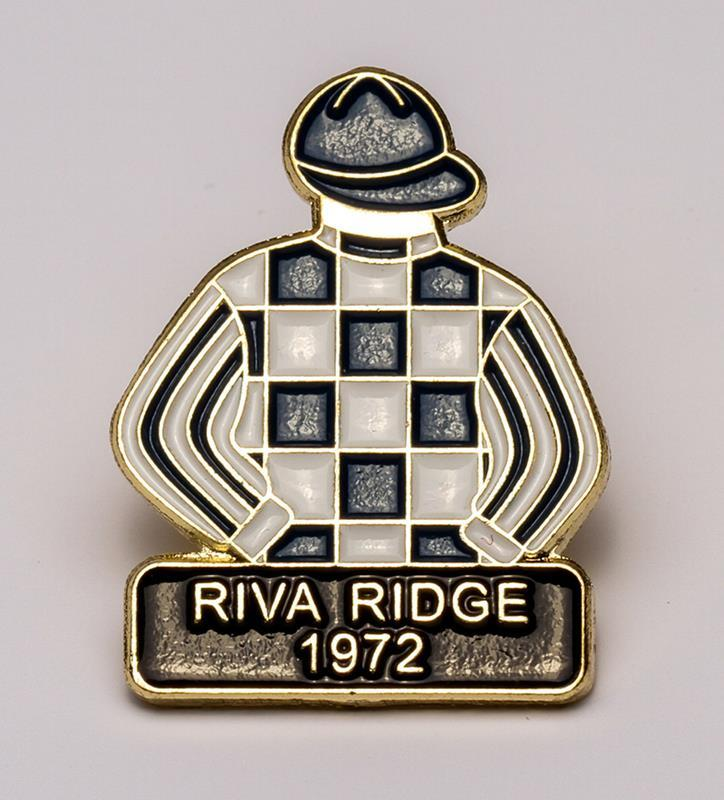 1972 Riva Ridge Tac Pin,1972