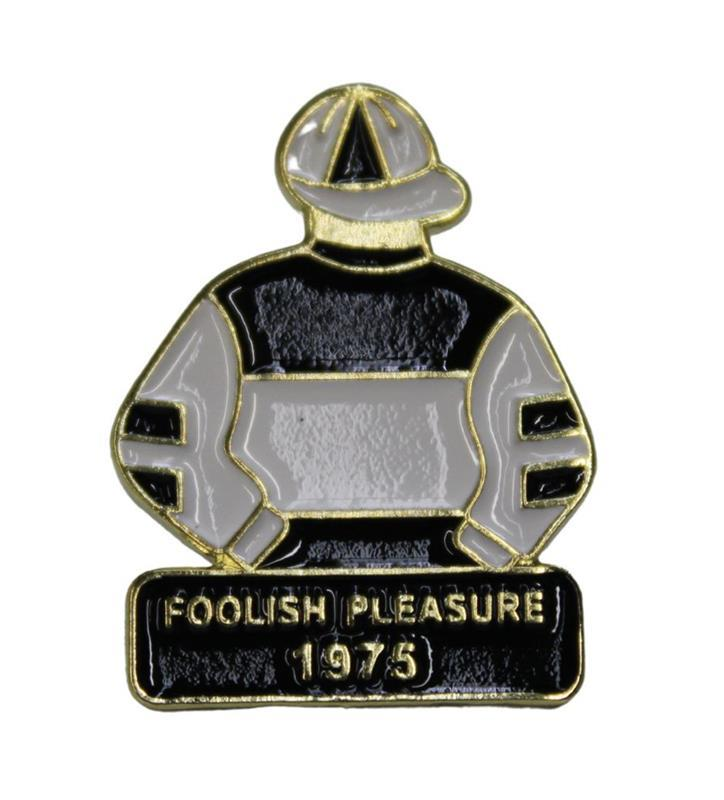 1975 Foolish Pleasure Tac Pin,1975