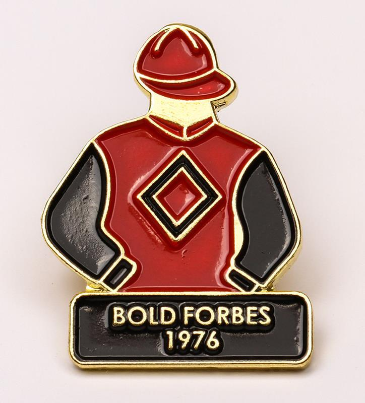 1976 Bold Forbes Tac Pin,1976