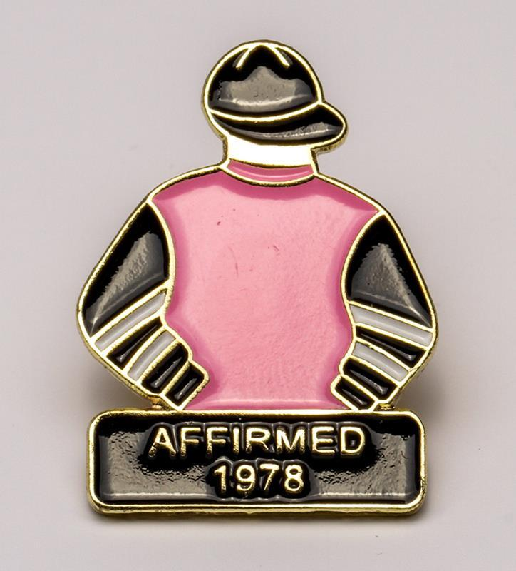 1978 Affirmed Tac Pin,1978