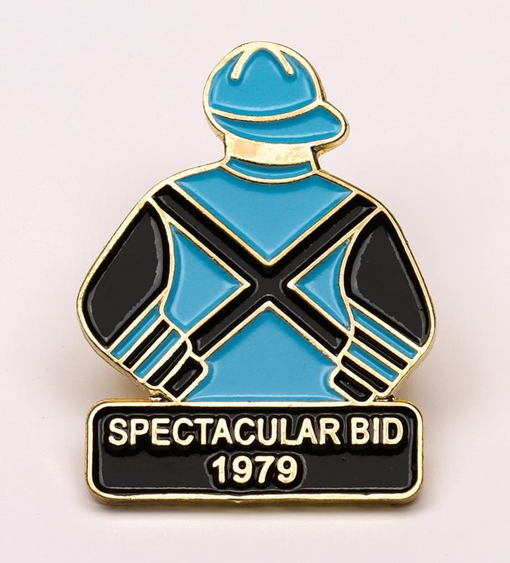 1979 Spectacular Bid Tac Pin,1979