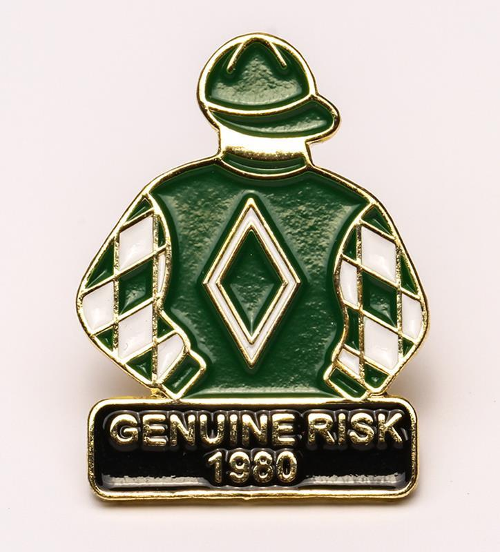 1980 Genuine Risk Tac Pin,1980