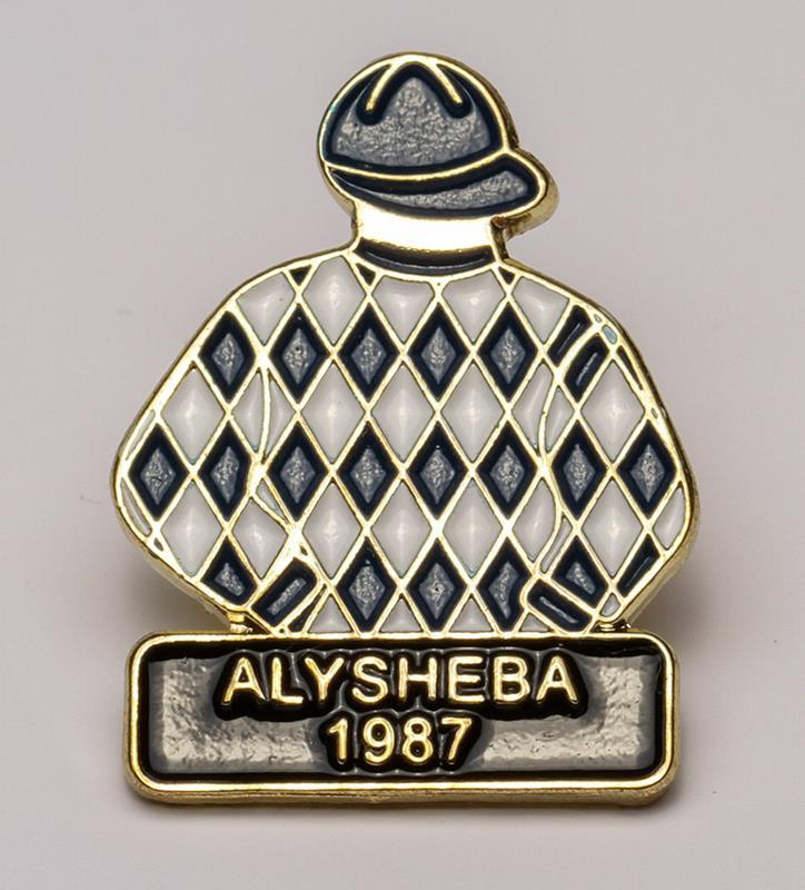 1987 Alysheba Tac Pin,1987