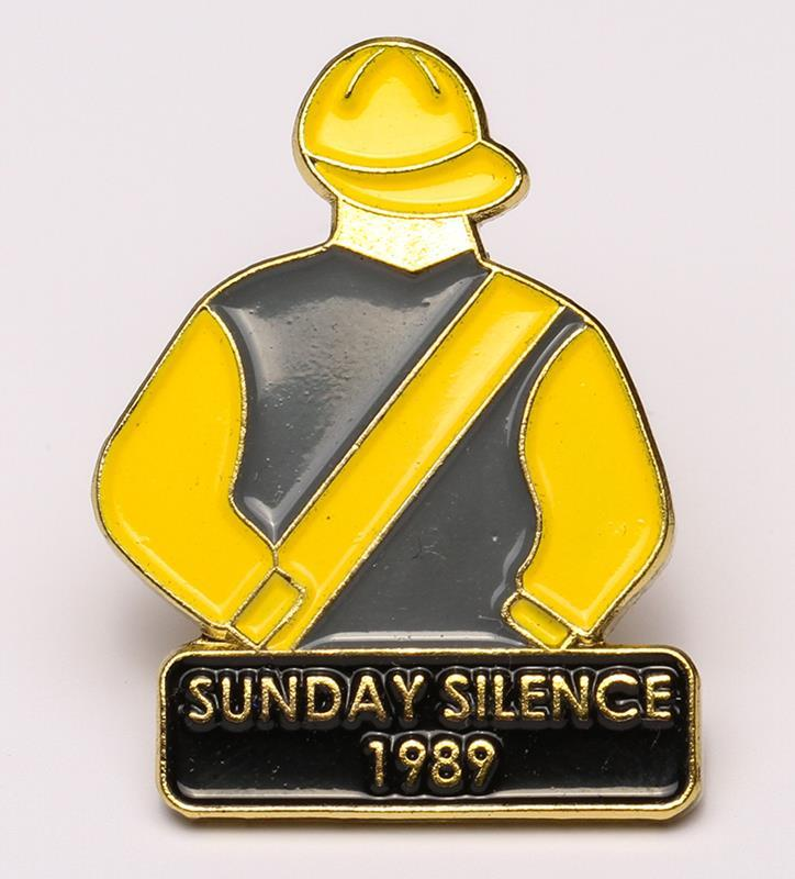 1989 Sunday Silence Tac Pin,1989
