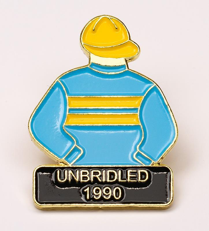1990 Unbridled Tac Pin,1990