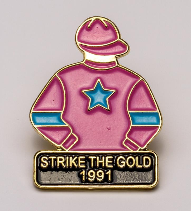 1991 Strike The Gold Tac Pin,1991