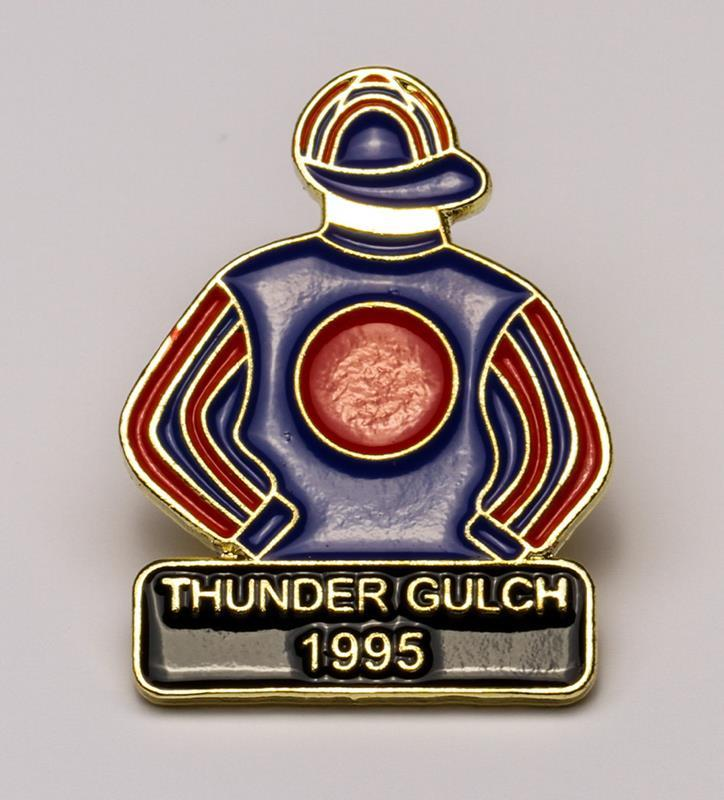 1995 Thunder Gulch Tac Pin,1995