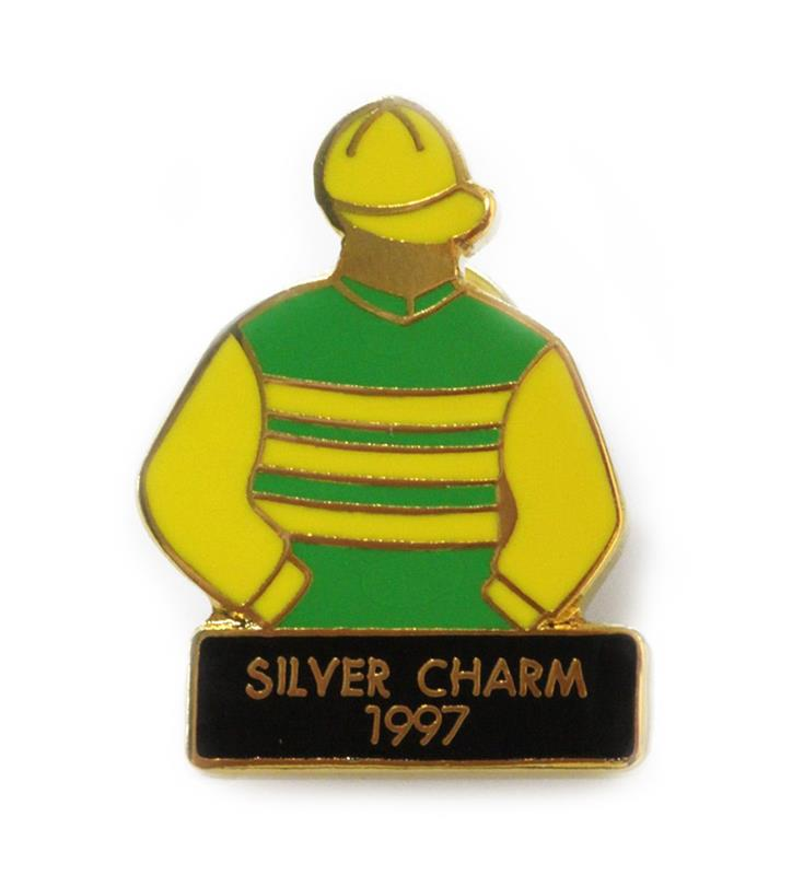 1997 Silver Charm Tac Pin,1997
