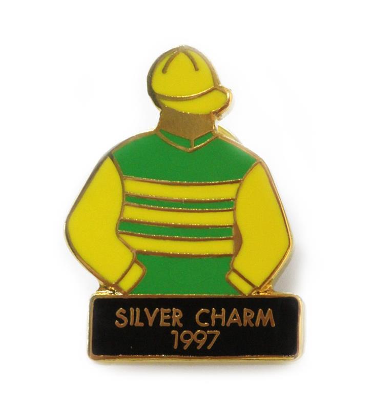 1997 Silver Charm Tac Pin,1997