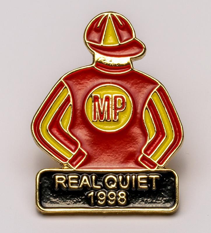 1998 Real Quiet Tac Pin,1998