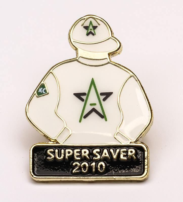 2010 Supersaver Tac Pin,2010
