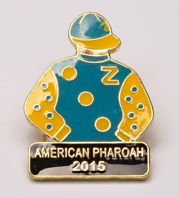 2015 American Pharoah Tac Pin,2015