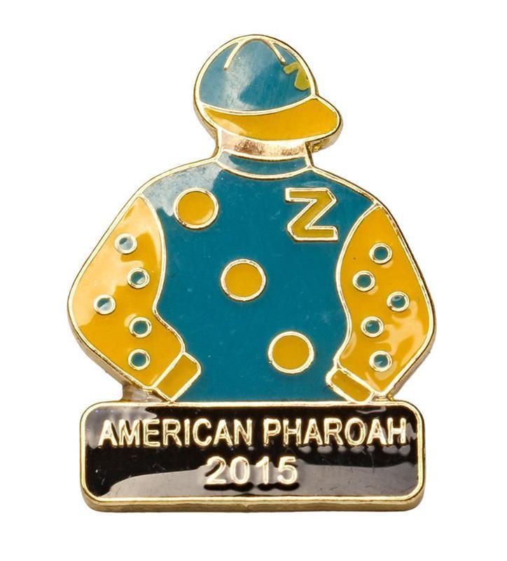 2015 American Pharoah Tac Pin,2015