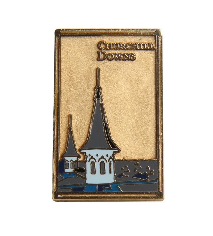 Churchill Downs Art Deco Spires Pin,R40758W 2-71-297-008