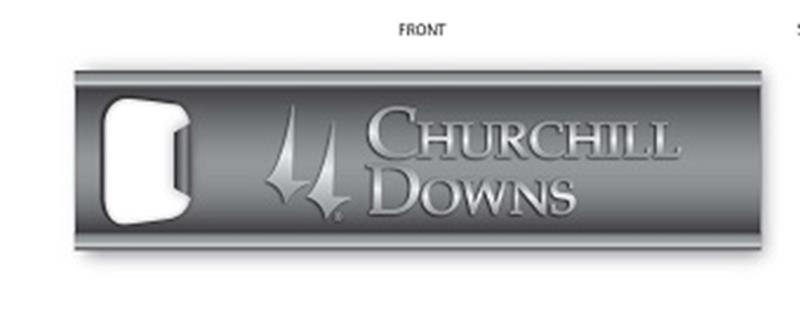 Churchill Downs Magnetic Bottle Opener,3112 PREMIUM