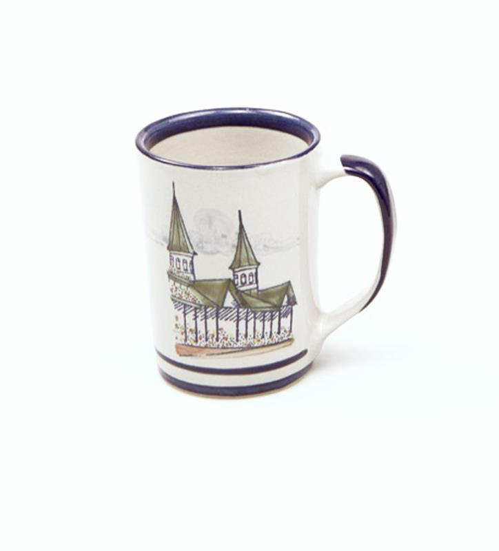 Churchill Downs Twin Spires Mug by Louisville Stoneware,SPRED003 10 OZ