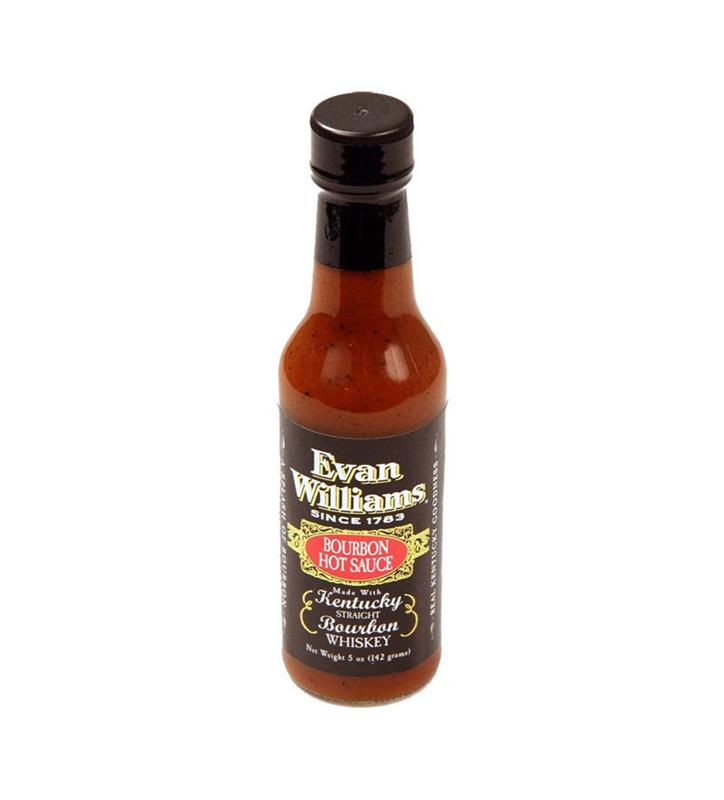 Evan Williams 5 oz Bourbon Hot Sauce