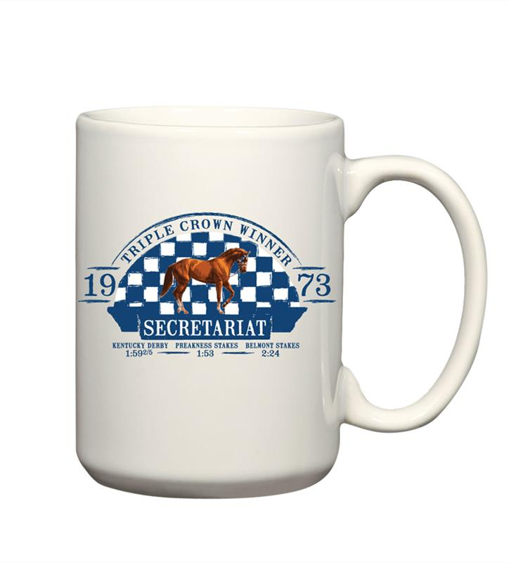 Exclusive Secretariat Track Record Mug