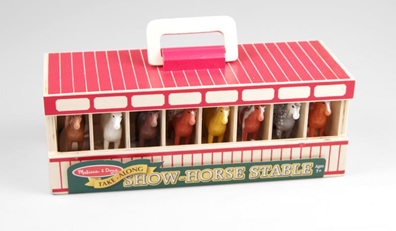 Horse Stable by Melissa and Doug,#3744