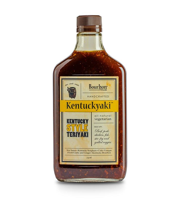 Kentuckyaki Sauce by Bourbon Barrel Foods,BBKB-12OZ