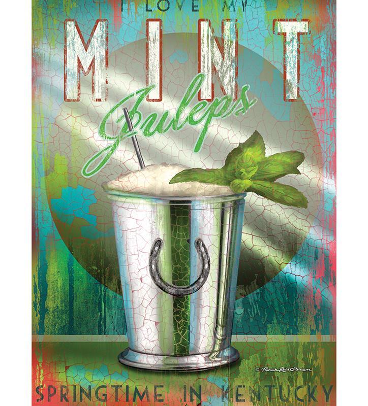 Mint Julep Print,4410-P