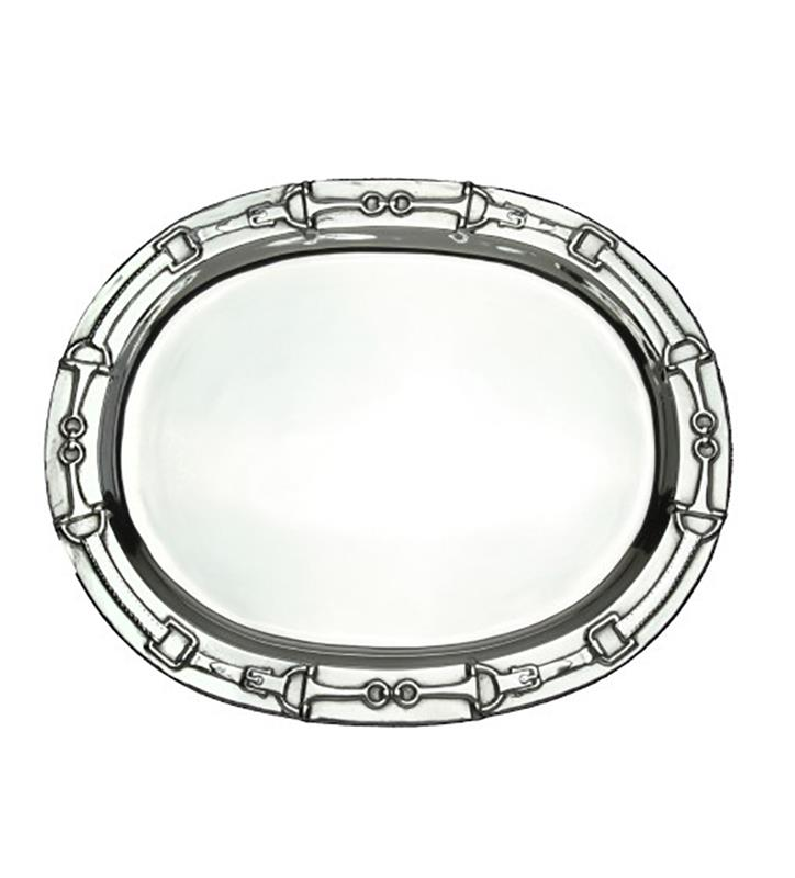 Oval Bits Tray by Arthur Court,103650 ALUM