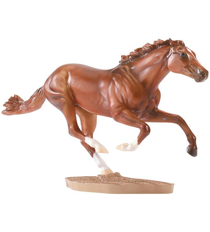 Secretariat Figurine by Breyer,RUNNING 1345