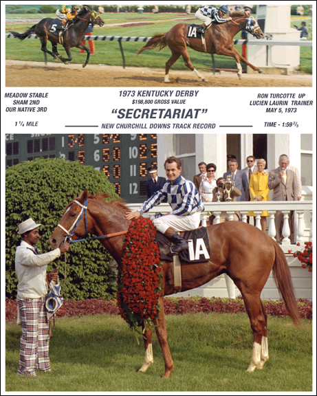 Secretariat Photo Composite