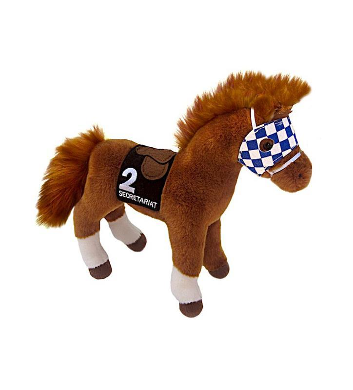 Secretariat Plush Horse
