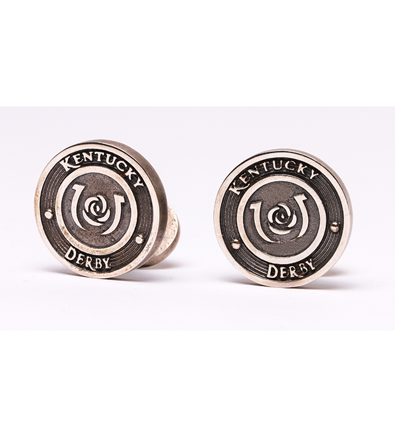 385-15 Kentucky Derby CuffLinks,Darren K. Moore,385-15 CUFFLINKS