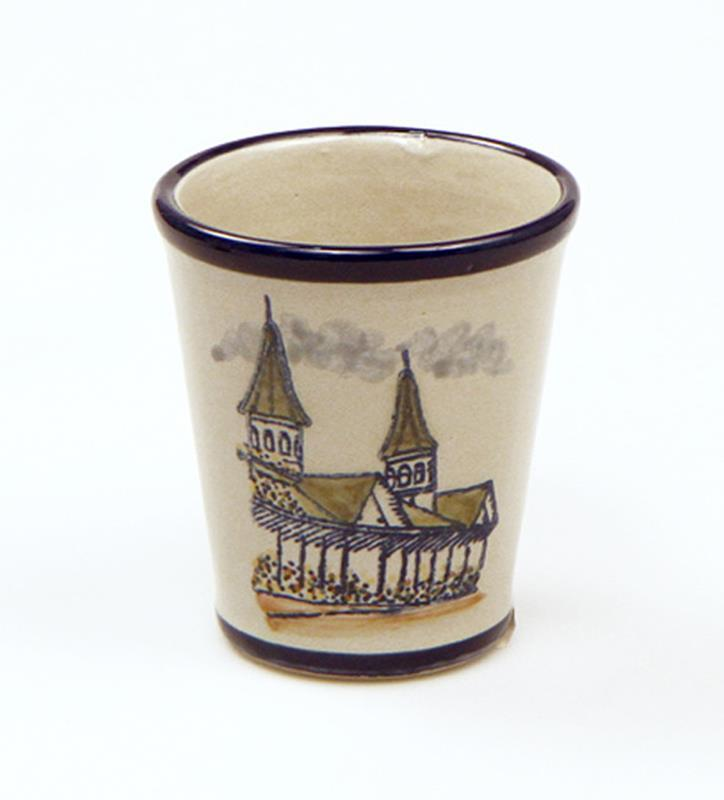 Twin Spires Julep Cup by Louisville Stoneware,SPRED010 9OZ