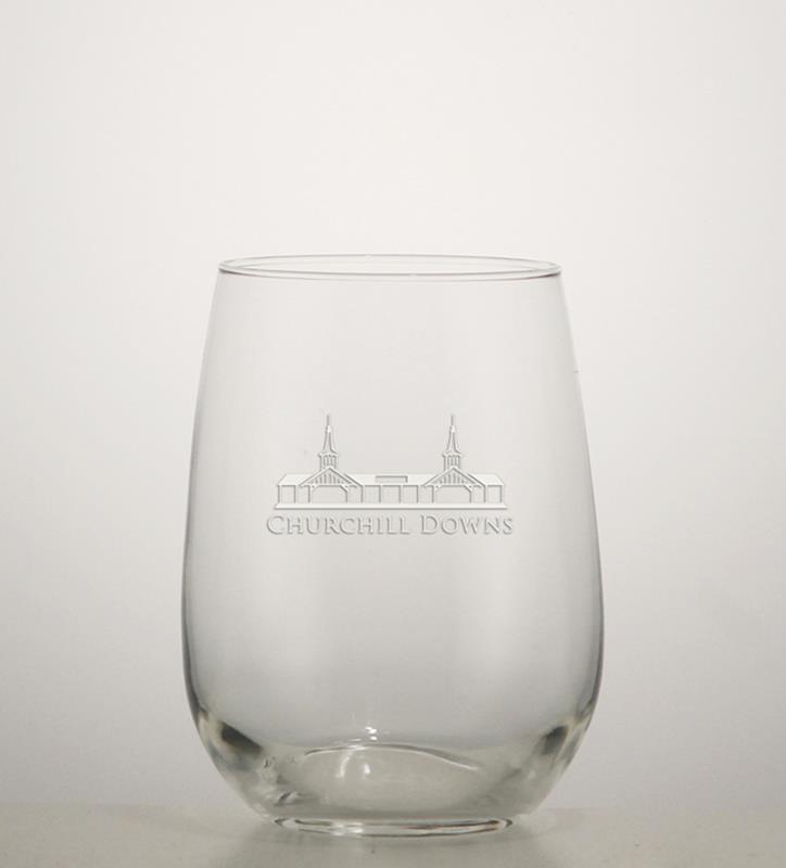Grandstand Etched Stemless Wine Glass,01-036 LT ETCH 16 OZ