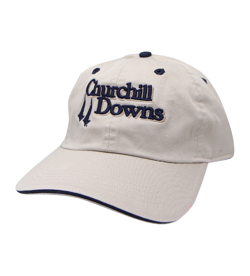 Churchill Downs Logo Bounce Stitch Cap,C50MT5
