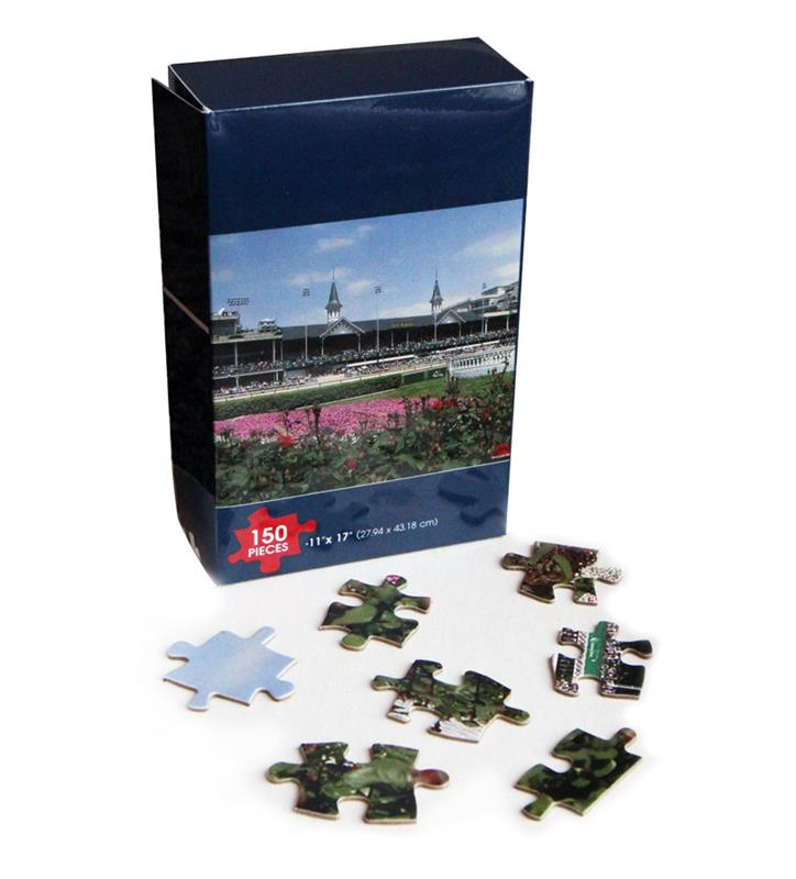 Churchill Downs Grandstand 150 piece Puzzle,CD GS 150 PUZZLE