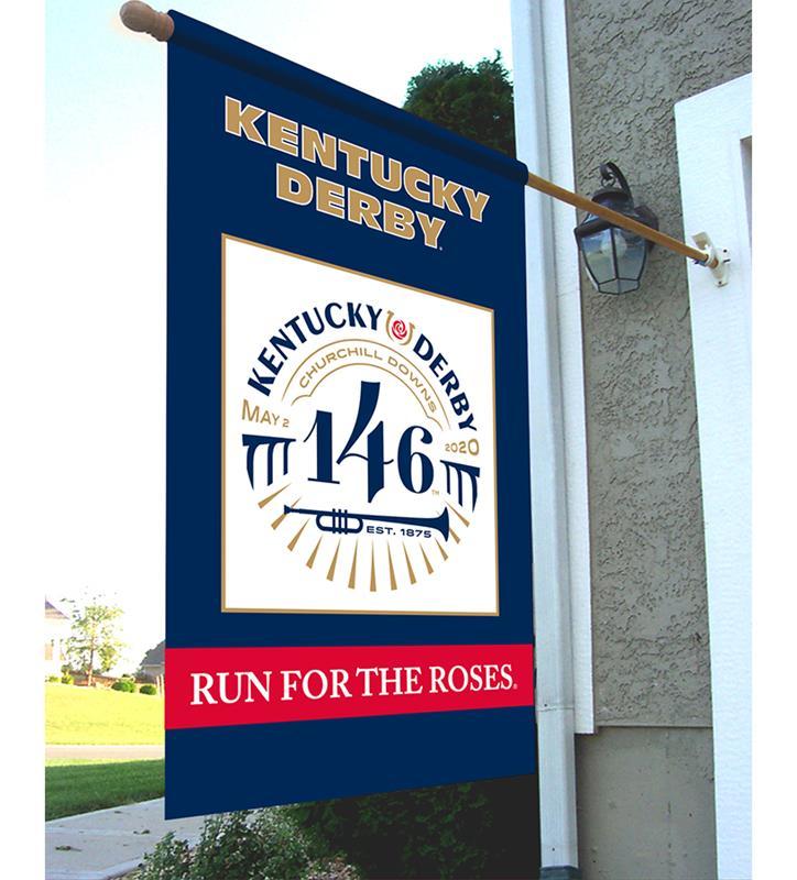 Kentucky Derby 146 Nylon Flag,79071