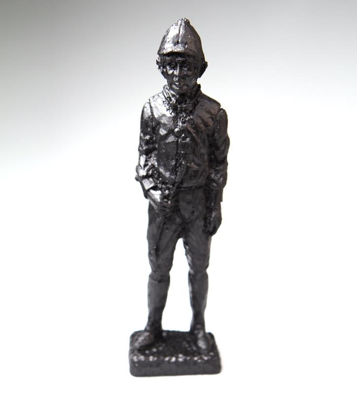 Jockey Figurine by Kentucky Coal Crafters,516