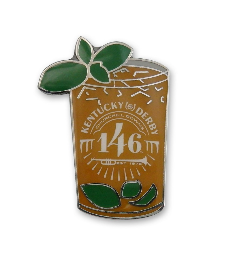 Kentucky Derby 146 Mint Julep Lapel Pin,KLP2006