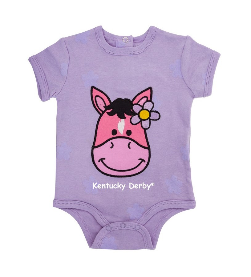 Kentucky Derby Horsie Onesie,3024 NAMEDROP