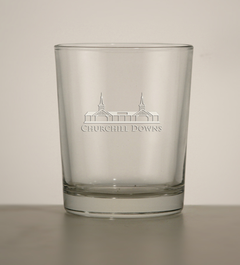 Grandstand Etched Tavern Whiskey Tumbler,03-003 LT ETCH 12 OZ