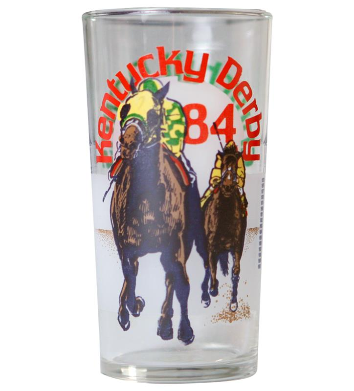 1984 Official Derby Glass