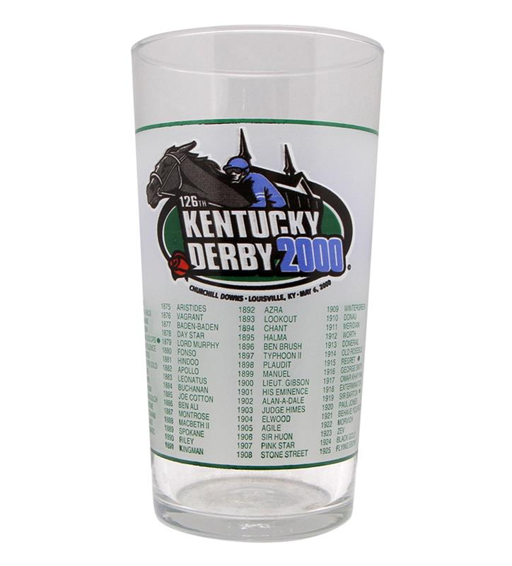 2000 Official Derby Glass