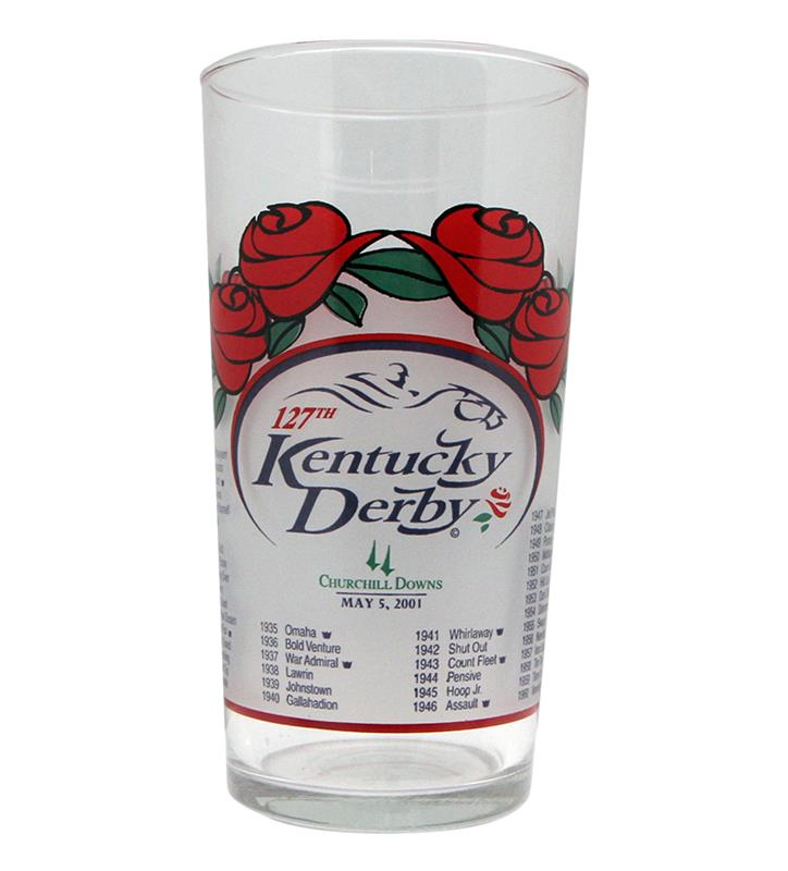 2001 Official Derby Glass