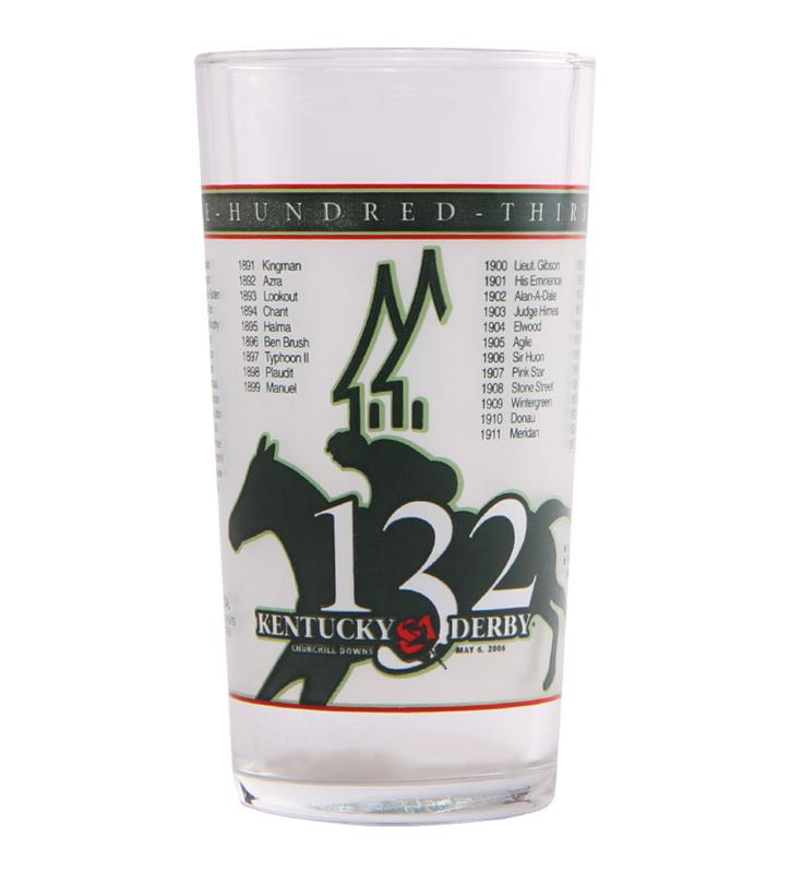 2006 Official Derby Glass