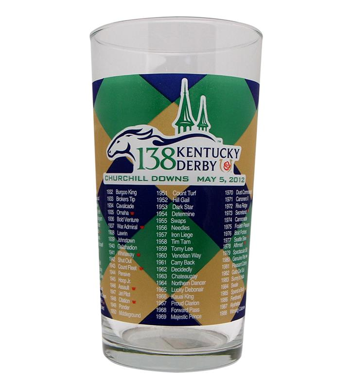 2012 Official Derby Glass