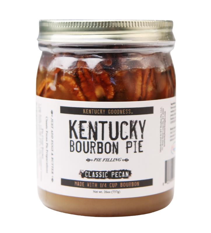 Kentucky Bourbon Pie in a Jar