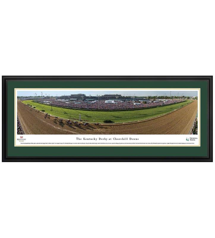 Kentucky Derby Panorama,CD5 DELUXE FRAMED
