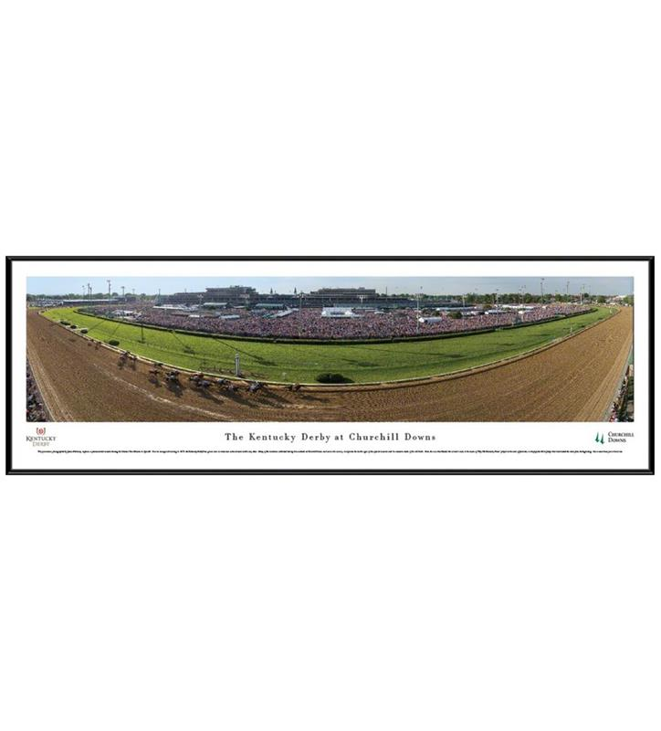 Kentucky Derby Panorama,CD5 FRAMED