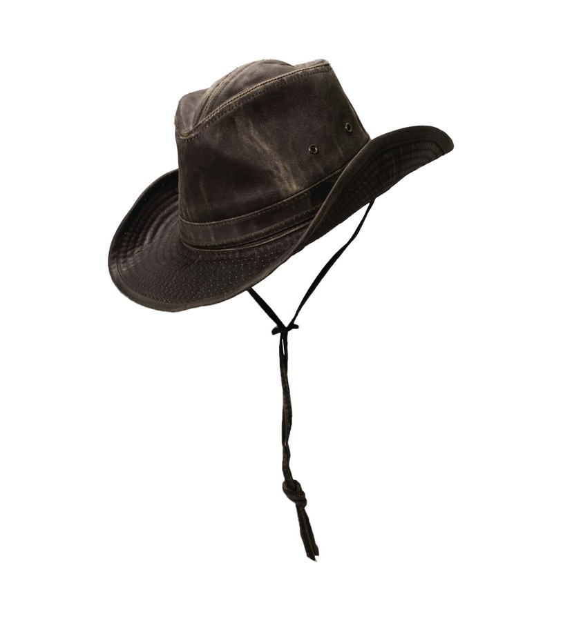 Men's Weathered Outback Hat,MC127