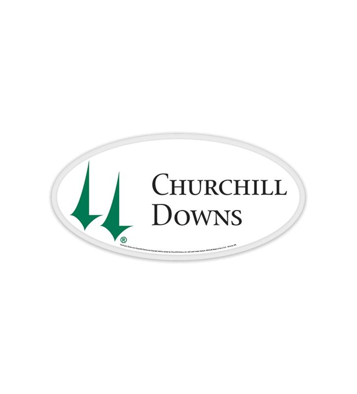 Churchill Downs Decal 3x6