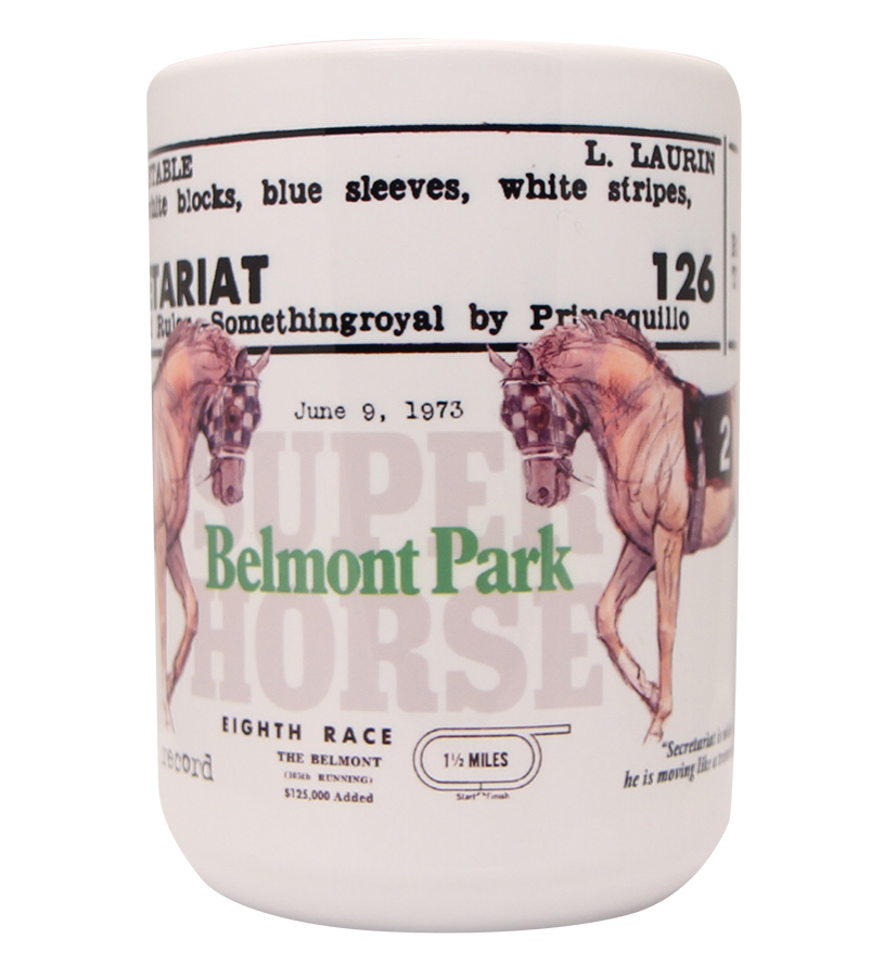 Secretariat Belmont Park Mug,BELMONT MUG